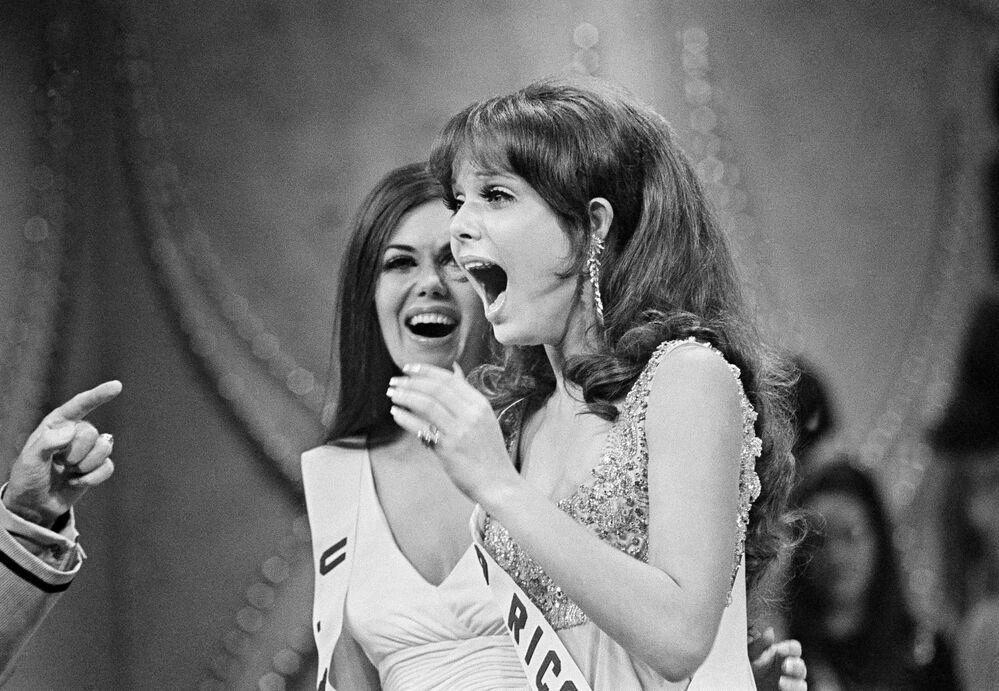 Zwyciężczyni konkursu Miss Universe 1970 Marison Malaret z Portoryko