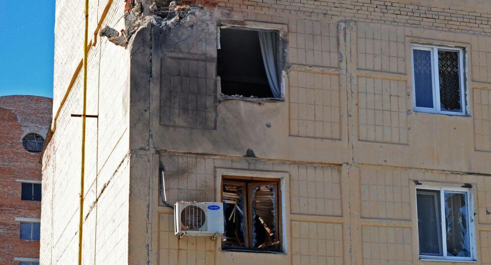 Sytuacja po ostrzałach w obwodzie donieckim