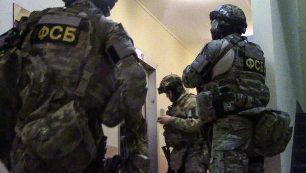 Funkcjonariusze FSB Rosji - Sputnik Polska