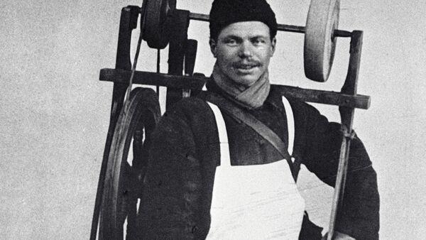 Moskiewski szlifierz,1913 rok - Sputnik Polska