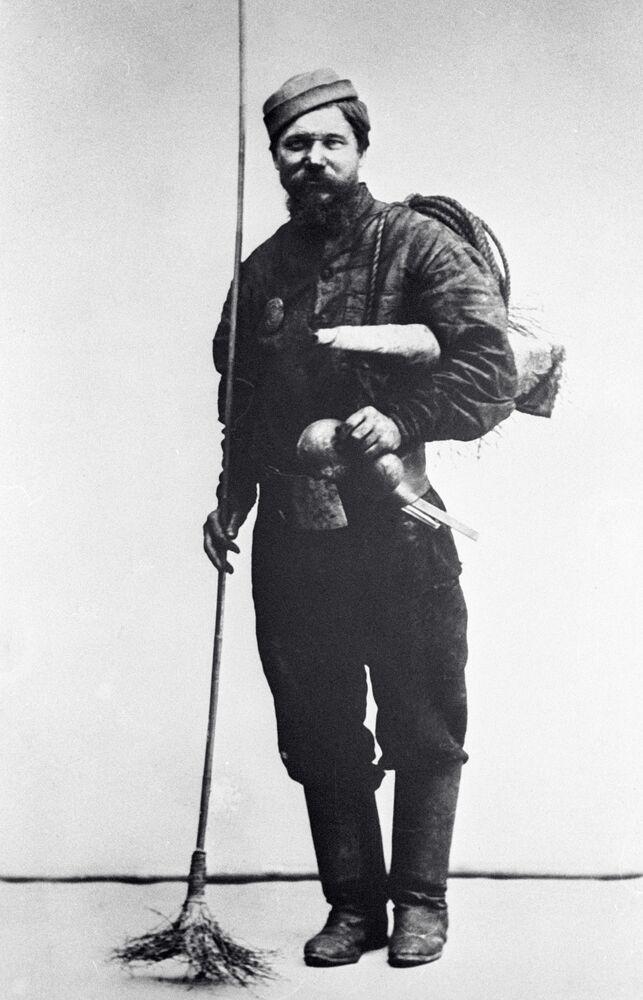 Moskiewski kominiarz, 1913 rok