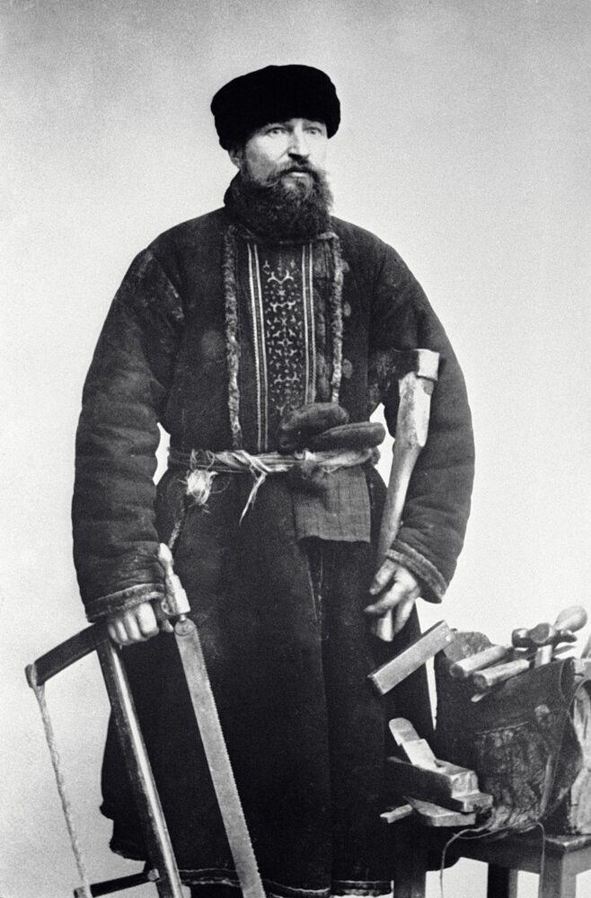Moskiewski stolarz, 1913 rok