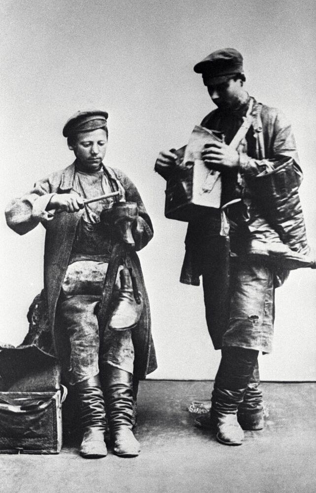 Moskiewscy szewcy, 1913 rok