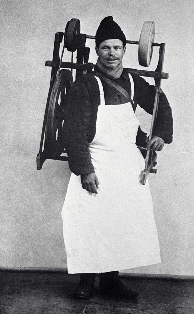 Moskiewski szlifierz,1913 rok