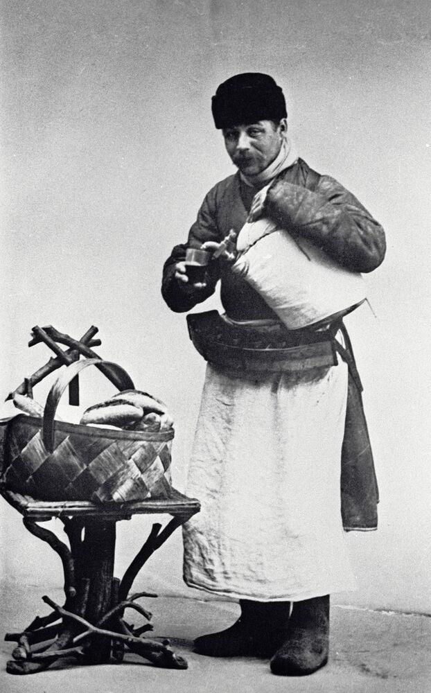 Moskiewski sprzedawca zbitnia, 1913 rok