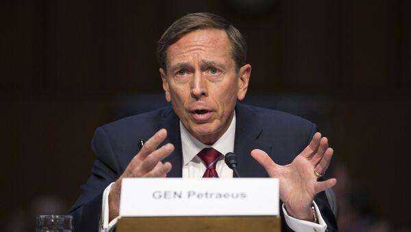 Były szef CIA David Petraeus - Sputnik Polska