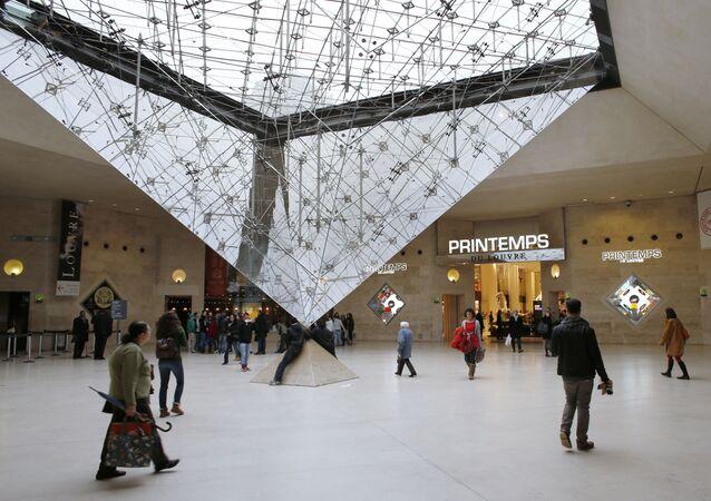 Centrum handlowe Louvre Carrousel w Paryżu