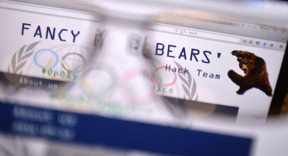 Strona internetowa grupy hakerów Fancy Bears, na której opublikowano dane na temat spisku USA i Kanady przeciwko Międzynarodowemu Komitetowi Olimpijskiemu