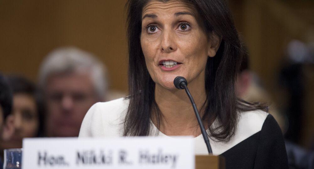 Nikki Haley, ambasador USA przy ONZ