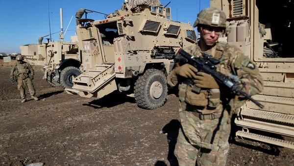 Amerykańscy żołnierze w Mosulu, Irak, 27 grudnia 2016 - Sputnik Polska