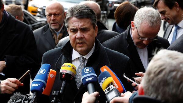 Minister spraw zagranicznych Niemiec Sigmar Gabriel - Sputnik Polska