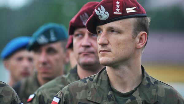 Żołnierze Wojska Polskiego podczas międzynarodowych ćwiczeń wojskowych - Sputnik Polska