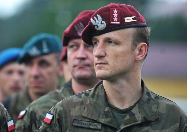 Żołnierze Wojska Polskiego podczas międzynarodowych ćwiczeń wojskowych