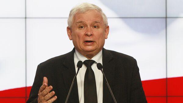 Lider partii Prawo i sprawiedliwość Jarosław Kaczyński - Sputnik Polska