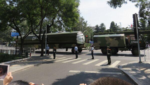 Chiński międzykontynentalny pocisk balistyczny DF-5B - Sputnik Polska