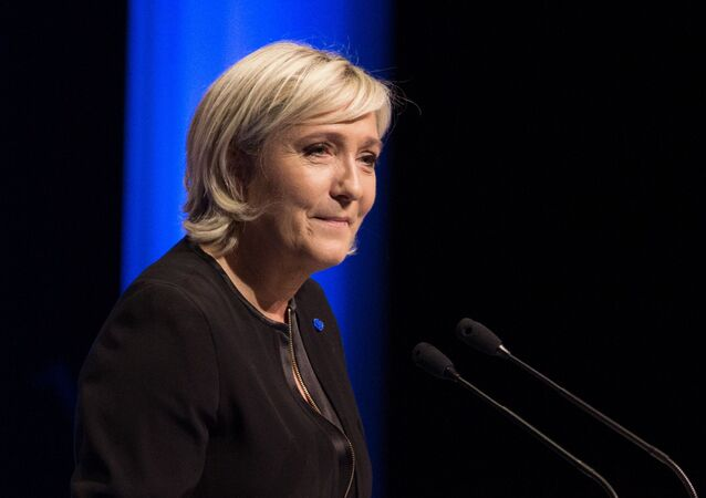Kampania wyborcza kandydatki na stanowisko prezydenta Francji Marine Le Pen