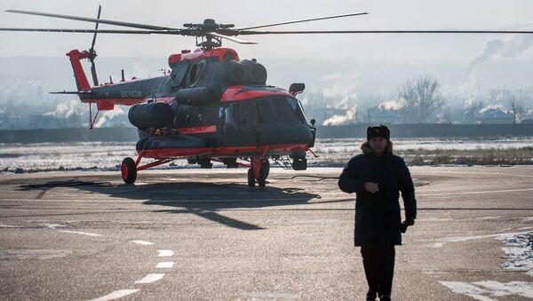 Śmigłowce Mi-8AMTSz-WA - Sputnik Polska