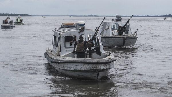 Nigeryjska marynarka wojenna - Sputnik Polska