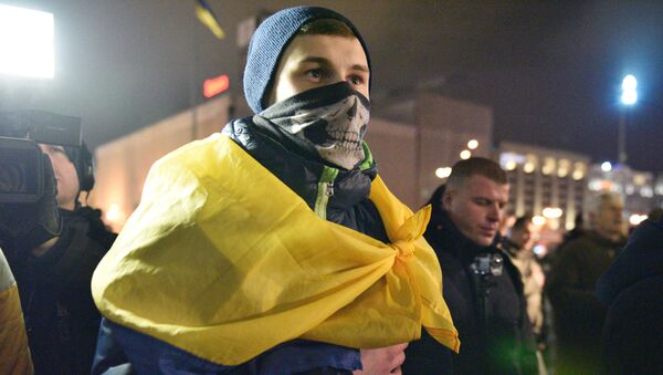 Trzecia rocznica Majdanu, Kijów - Sputnik Polska