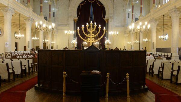 Synagoga w Bordeaux - Sputnik Polska