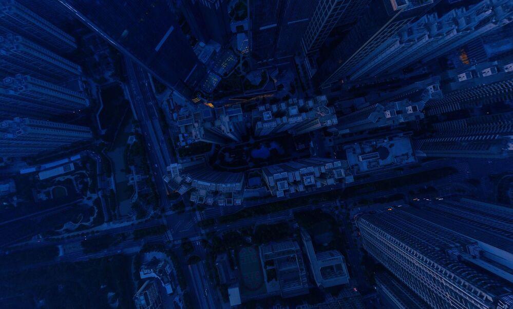 Zdjęcie Gwiaździsta noc. Autor: Jingwen Chen. Pierwsze miejsce wśród profesjonalistów w kategorii 360°.
