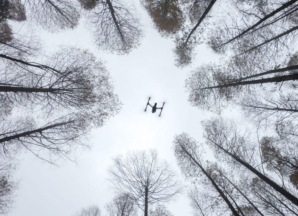 Zdjęcie Inspiracja w akcji. Autor: Lili Cui. Drugie miejsce wśród amatorów w kategorii Drony w użyciu.