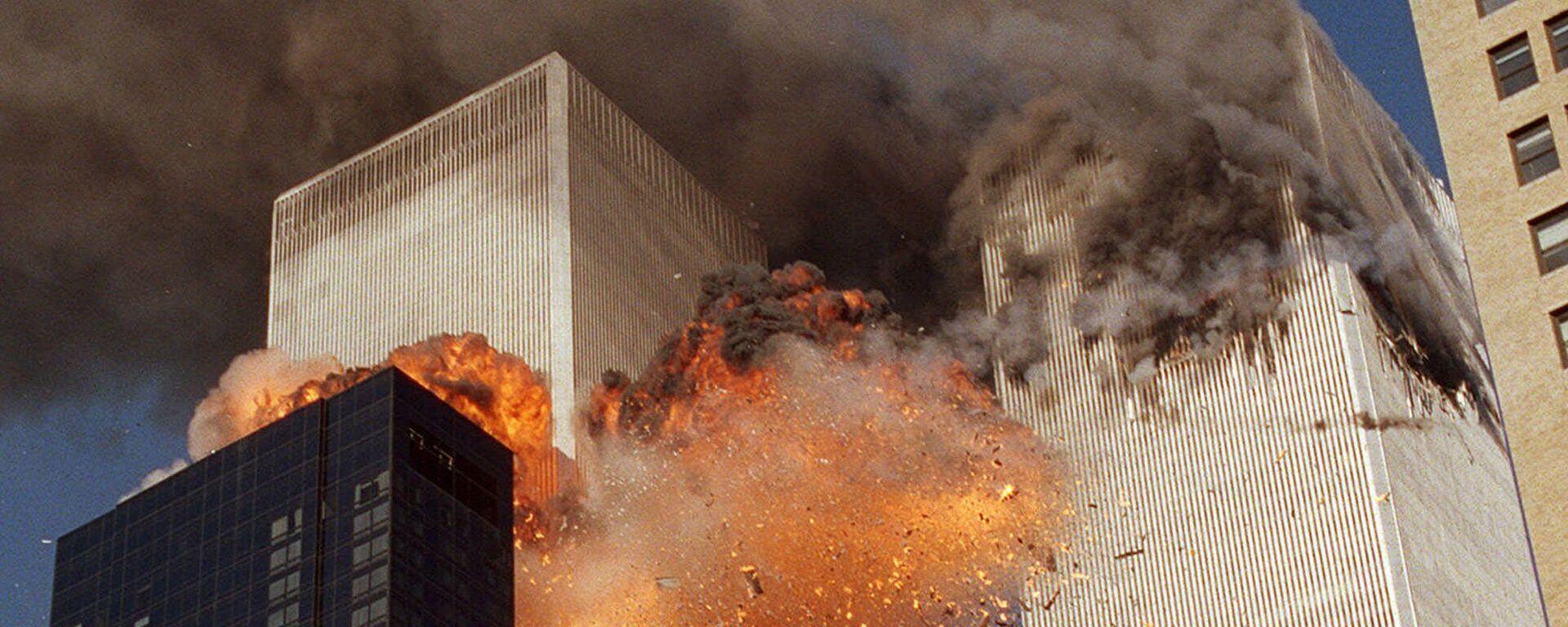 Atak na WTC w Nowym Jorku, 11 września 2001 - Sputnik Polska, 1920, 13.05.2020