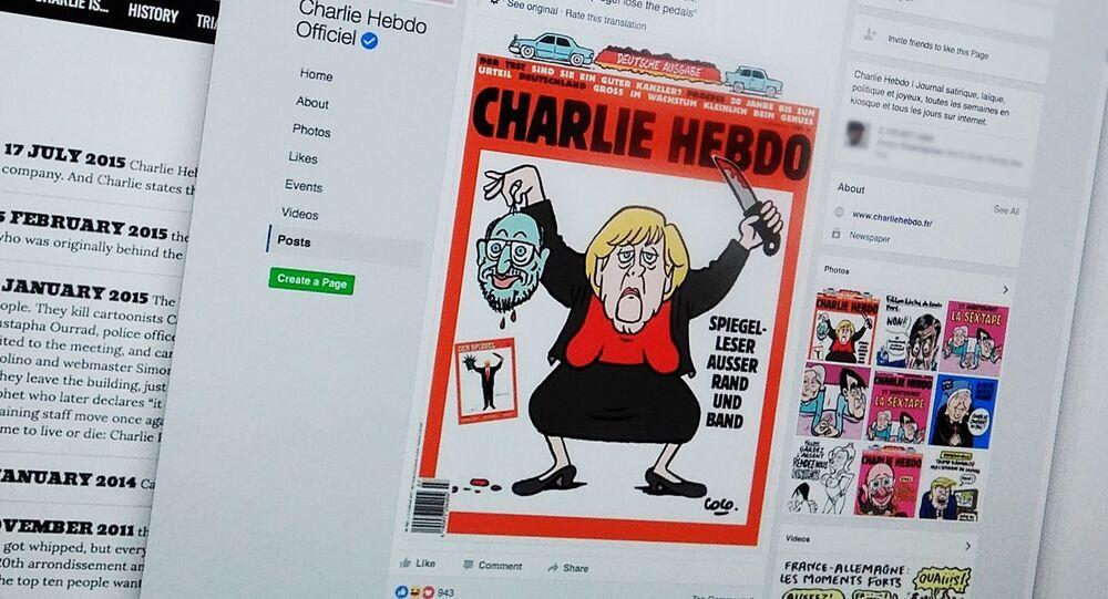 Oficjalne konto Charlie Hebdo w serwisie społecznościowym