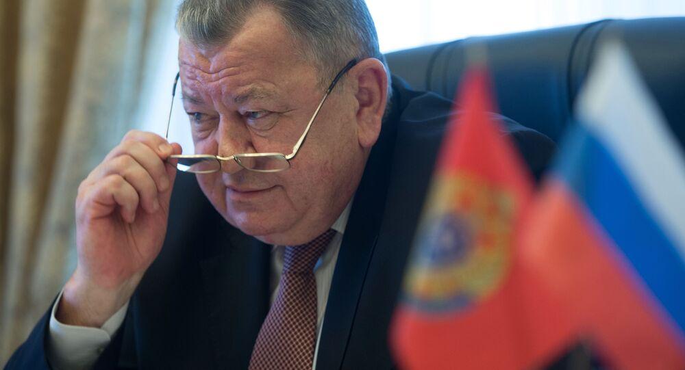 Wiceszef MSZ Rosji Oleg Syromołotow