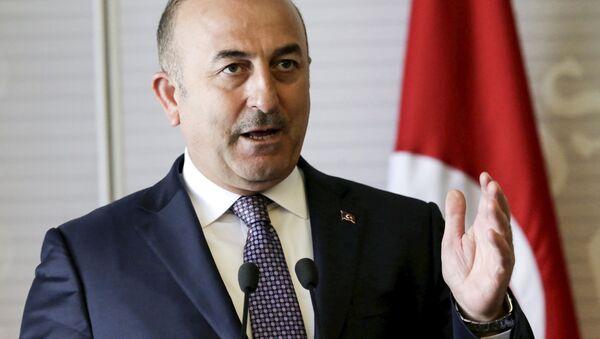 Министр иностранных дел Турции Мевлют Чавушоглу - Sputnik Polska