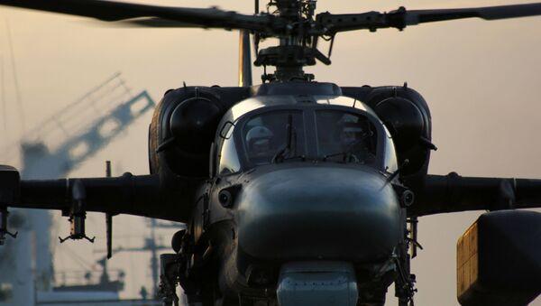 Śmigłowiec Ka-52K - Sputnik Polska