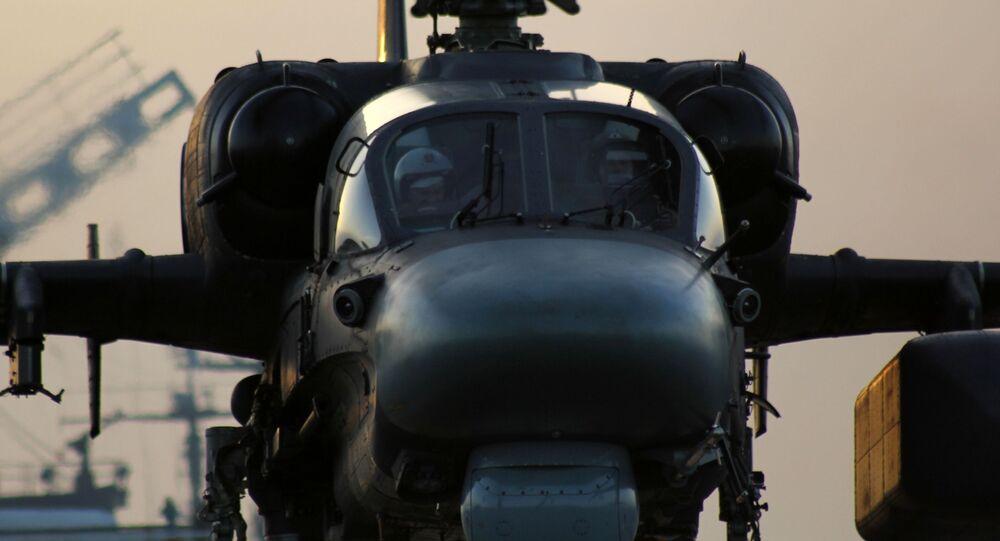 Śmigłowiec Ka-52K