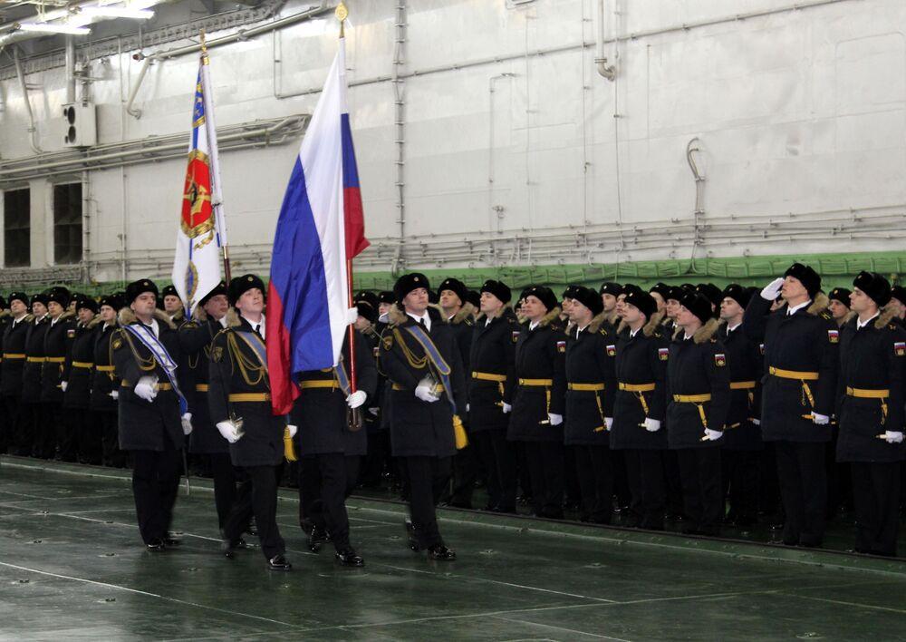Admirał Kuzniecow w Siewieromorsku
