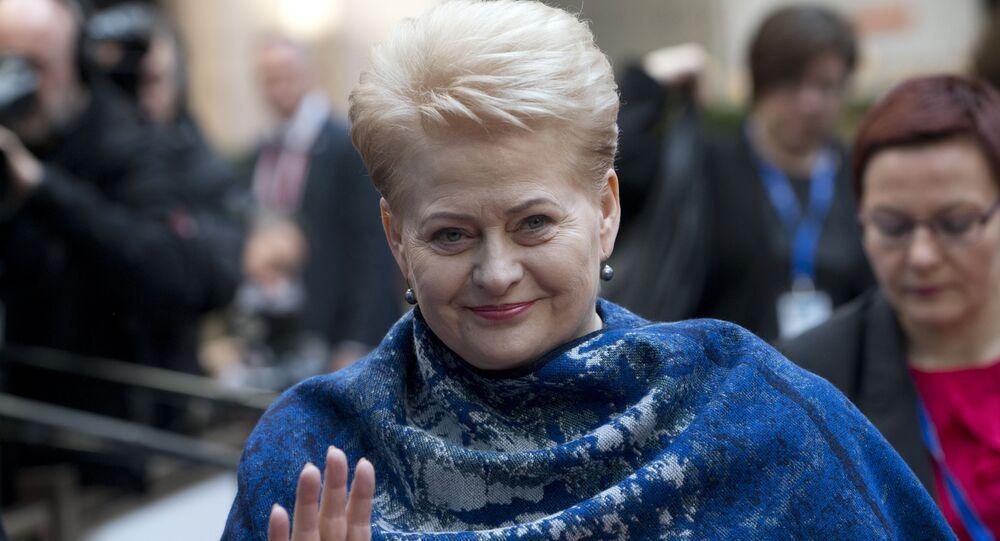 Prezydent Litwy Dalia Grybauskaitė