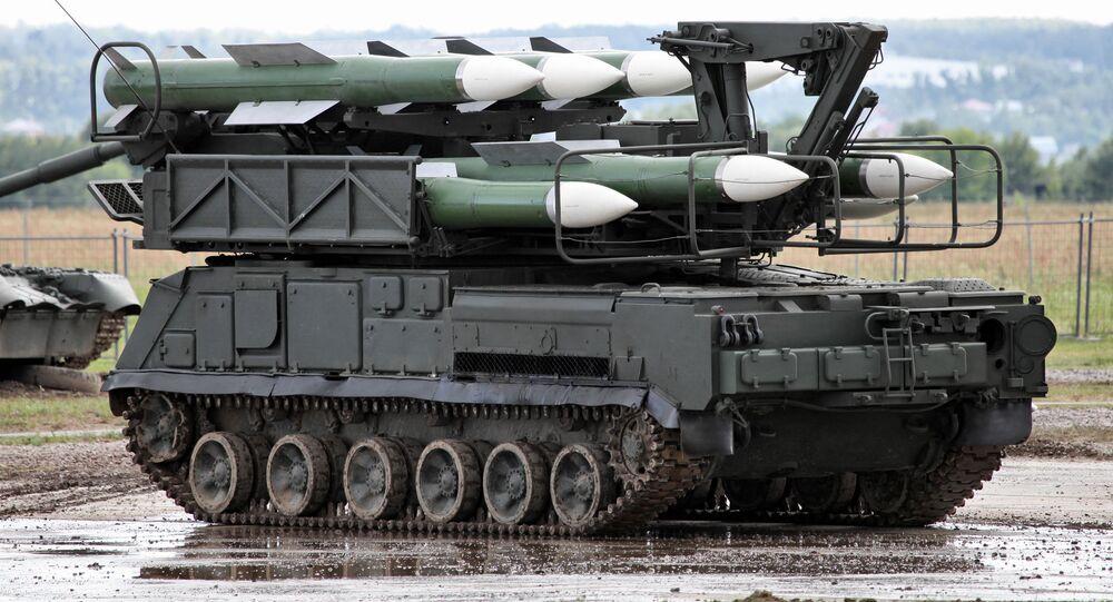 """System rakiet przeciwlotniczych """"Buk-M1"""""""