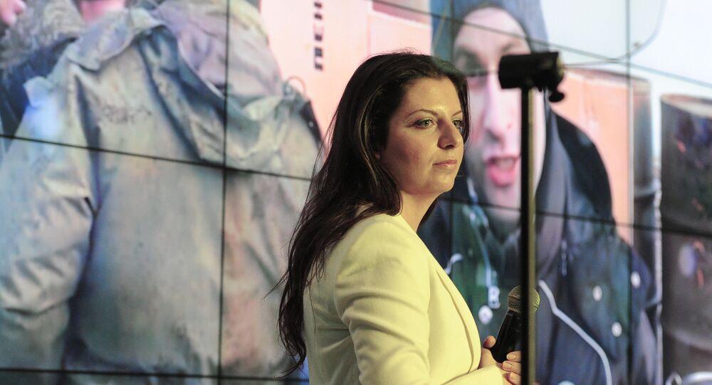 Redaktorka naczelna telewizji RT i agencji Sputnik Margarita Simonian