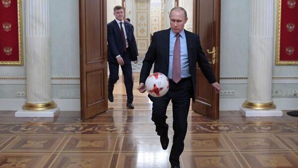 Władimir Putin w Kremlu - Sputnik Polska