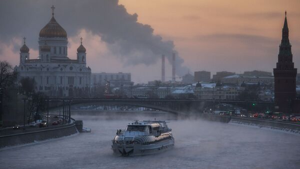 Rzeka Moskwa - Sputnik Polska