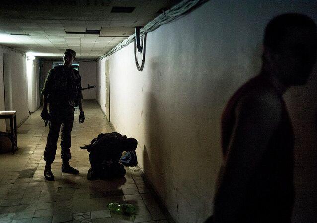 Zdjęcie fotografa Walerija Mielnikowa z serii Czarne dni Ukrainy