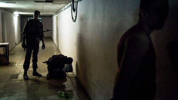 Zdjęcie fotografa Walerija Mielnikowa z serii Czarne dni Ukrainy - Sputnik Polska