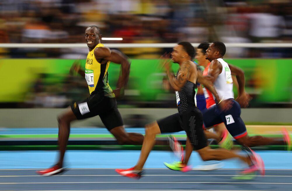 Zdjęcie Złoty uśmiech Rio. Autor: Kai Oliver Pfaffenbach. Trzecie miejsce w kategorii Sport - zdjęcie pojedyncze.