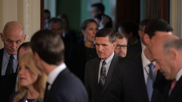 Były doradca prezydenta USA ds. bezpieczeństwa narodowego Michael Flynn - Sputnik Polska