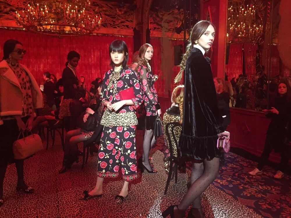 Pokaz kolekcji  Kate Spade podczas Tygodnia Mody w Nowym Jorku