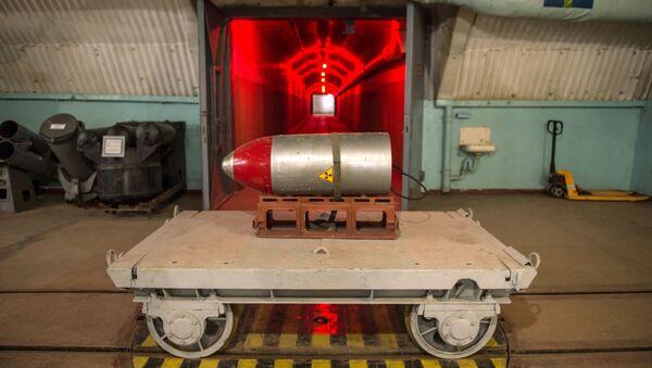 Ładunek nuklearny w kompleksie muzealnym Bałakława - Sputnik Polska