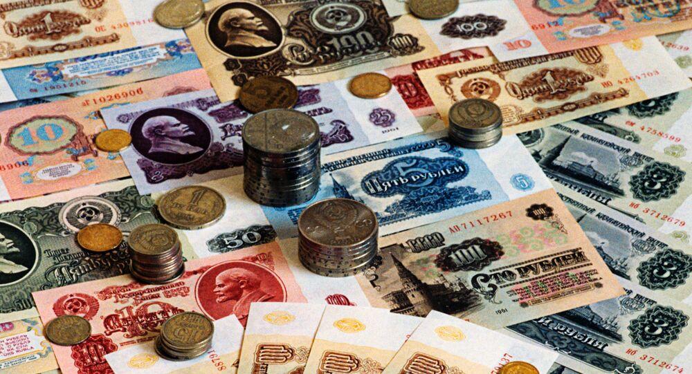Ruble radzieckie