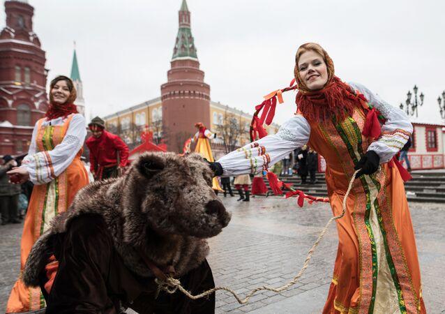 Otwarcie festiwalu Moskiewska Maslenica