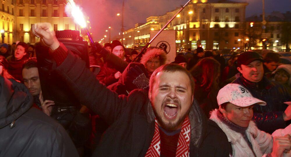 Marsz Rozsierdzonych Białorusinów