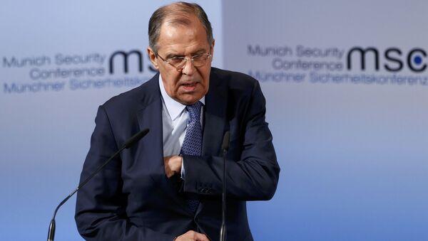 Siergiej Ławrow na Monachijskiej Konferencji Bezpieczeństwa - Sputnik Polska