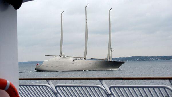 Jacht Sailing Yacht A rosyjskiego biznesmana Andrieja Mielniczenko - Sputnik Polska