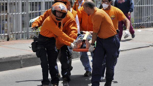 Operacja ratunkowa po wybuchu w Bogocie - Sputnik Polska